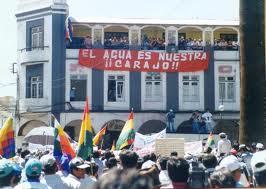 Risultati immagini per cochabamba acqua
